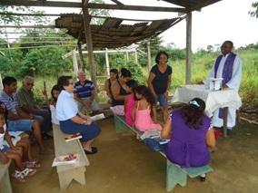 Missão na Comunidade Santo André